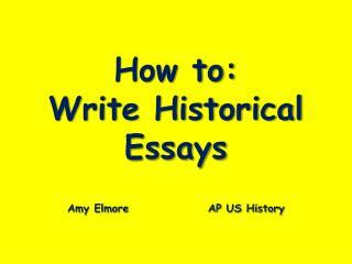How To Write A Thematic Essay - Topics, Example, Outline
